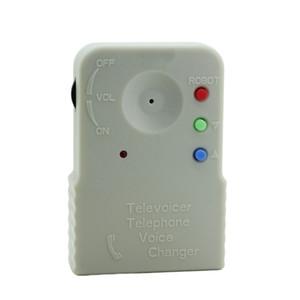 9V inalámbrico con altavoz incorporado en el micrófono del teléfono portátil profesional digitalizador Disguiser cambiador de la voz mini portátil