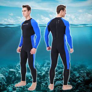 Areyourshop Fitness costume ultra-mince WETSUIT Full Body super stretch plongée costume de bain Surf produits Snorkeling Sporting Accessoires Pièces