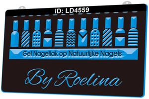 LD4559 Gel Nagellak Op Natuurlijke Nagels 3D Gravura LED Light Sign 9 Cores Wholesale Varejo Design Grátis