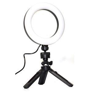 Ring Fill Light Dimmable Mobile Phone Tripod Stand Selfie Light Adjustable Tripod For Make-up Live Streaming Online Teaching tiktok tik tok