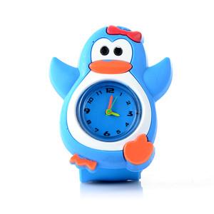 Kids Watch 3D Cartoon Animal Quartz Wristwatches Sport Children Watches Gifts For Cute Baby Clock Slap Watch