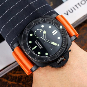 designer watches luxury mens watches automatic watch 47mm dial leather belt mechanical man watch free shipping
