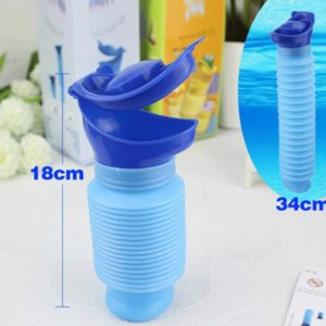 Portable car urinal Emergency telescopic urinal for men, women, children and children Baby urine Emergency urinal