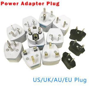 Factory Direct Universal Plug Adapter EU US UK AU Plug Travel AC Power Adaptor Converter 250V 10A Socket Converter White
