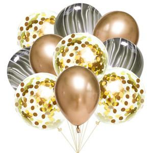 10pcs 12inch Latex Air Balloons Happy Birthday Party Decoration Wedding Helium Ballon Valentine's Day Baby Boy Girl Kids Rose jllbCF