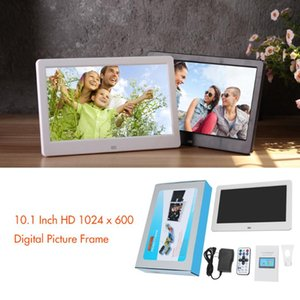 10.1 inch Screen HD 1024*600 digital photo MP3 MP4 alarm clock calendar Electronic Picture Music Movie with Remote Control