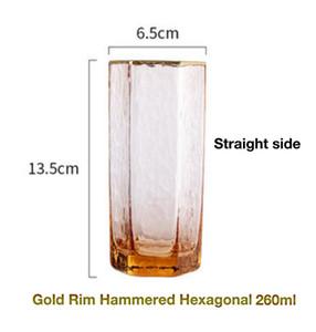 Creative or Rim Martelé Champagne Verre à vin Glasswhisky Verre d'eau créative d'or offre de réduction sur bbymRr wrhome