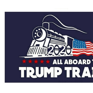 A-Car Trump Train Wall Stickers Donald Window Sticker US Election Home Decor Free Shipping OWC1076