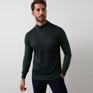 pullover termico Designers vestiti degli uomini di modo 2020 Buratti Classics Mezza dolcevita Maglieria Maglione MASCHIO MAGLIONE 518 MOD1YBN