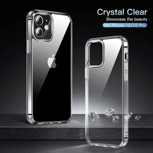 Transparent case For Samsung S20 Plus SE Crystal Gel Case Thin transparent Soft TPU Clear Cases For iPhone 12 MINI 11 Pro Max 8 7 Plus