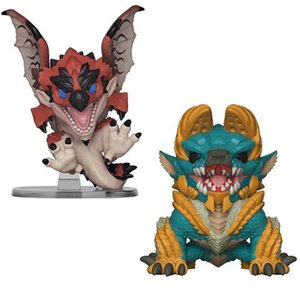 2019 NEW WHOLESALE Funko Pop Monster Hunter Fiery dragon Vinyl Action Figure With Box #293 Toy Gift Doll Good Quality FOT KIDS