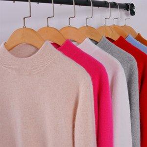 패션 zocept 고품질 캐시미어 스웨터 여성 가을 겨울 여성 소프트 편안한 따뜻한 슬림 캐시미어 혼합 풀오버