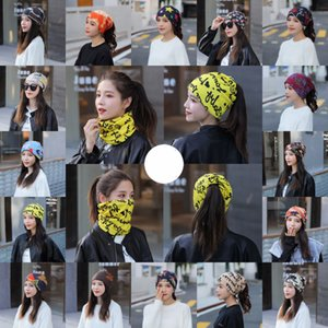 Women Winter Warm Neck Gaiter 33 Styles Fashion Bandana Outdoor Running Cycling Face Mask Ski Skull Beanie Windproof Scarf Free DHL LQQ185