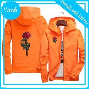 AsStseries Windjack Donne Rose College Primavera Herf Fashion Jas Giacche da uomo con cappuccio con cappuccio