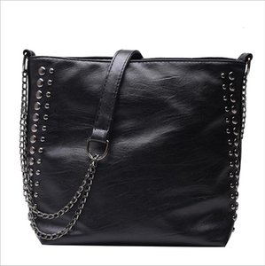 2019 Hot Leather Bag For Women Handbag Large Capacity Lady Shoulder Bag High quality Crossbody Messenger Black Grown