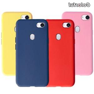 """Caso 6.0"""" Casos de Jóvenes de la contraportada del color multi suave de la manera TPU para F5 A73 OPPO F 5 teléfono de la cáscara"""