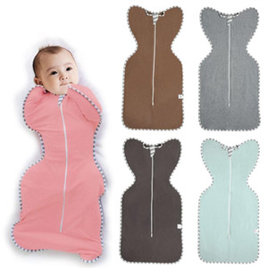 Summer Baby Sleep Bag Boys Girls Blanket Wrap Cotton Swaddle Sleeping Bag For Newborns 9 Colors