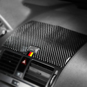 벤츠 W204 C 클래스 2007년에서 2010년까지 자동차 액세서리 인테리어 탄소 섬유 자동차 스티커 자동차 탐색 패널 데칼 트림 커버
