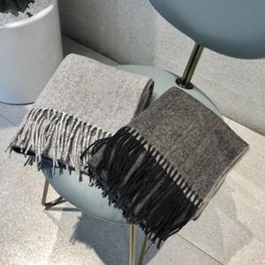 High quality winter cashmere warm soft skin fashion brand classic scarfs designer mens women Vmonogram echarpe couples wool scarf e9bH#