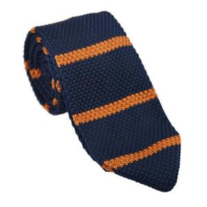 Moda Erkekler Renkli Tie Örme Örme Kravatlar Kravat İnce Skinny Dokuma Cravate Kravat P1 daraltmak daraltın