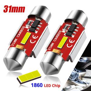 İç ışık C5W 6000/124; 2 parça, 31 mm 1860 K SMD beyaz feston CANBus otomatik kubbe 12V