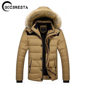 Kapşonlu Kürk Yaka Kış Ceket Erkek Marka Casual Ceket Caot