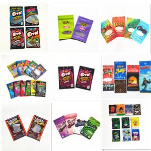 가방을 포장 핫 Errlli ㅎ ㅎ 축축한 Runtz WONKA의 gummies 지퍼 가방 드라이 담배 소매 가방 마일 라 가방