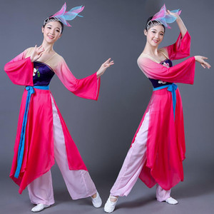 Traditional Chinese Folk Dance Costume for Woman Dance Costumes Yangko Girl Dress Women Yangge Clothing