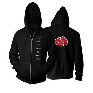 3D Printed Uchiha Itachi Naruto Zip Up Hoodie Casual Hatake Kakashi Akatsuki Naruto Jacket Black Hoodies Sweatshirt X1021