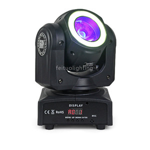 Mini Lyre 60w Led Moving Head Beam Light RGBW 4in1 Leds With 12pcs SMD Leds Beam Moving Head Disco Party Lights Mobile Head