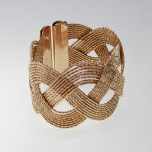 free shipping gold silver metal napkin ring , wedding napkin holder
