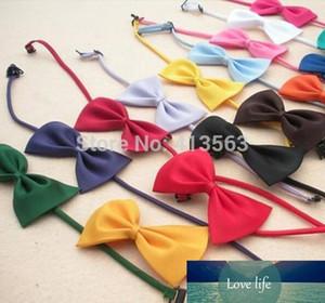 Wholesale-1pcs lot Multicolor Dog neck tie Dog bow tie Cat tie Pet grooming Supplies Pet headdress Bowtie ncektie 2015
