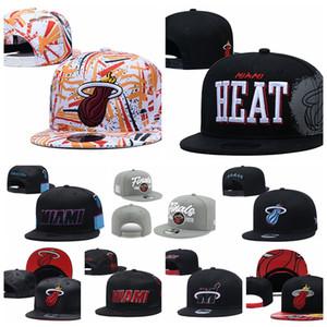 MiamiChaleurHommes Sport Casquettes HOMME FEMME DE LA JEUNESSE MIA 2020 Série Tip-Off Basketball 9FIFTY snapback réglable Red Hat