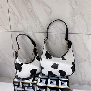 Personnalisé bagwomen épaule imprimé vache 2020 mode version coréenne de la chaîne sac à bandoulière portable frais sac simple de axillaire 4IxAt