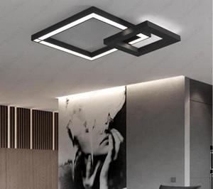 Iluminación interior Moderno Techo Luz Comedor Lámpara LED Faro Bar Dormitorios Sala de estar Chandelier RGB Color Blanco Blanco Envío gratis