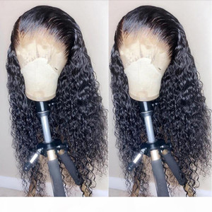 Peruvian Kinky Curly Human Hair Wig Pre Plucked Glueless 13x4 Lace Frontal 100% Human Hair Wigs Jarin Remy Bulk Sale