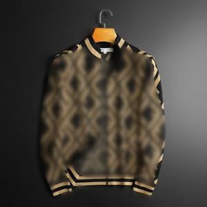 Moda ve yakışıklı standı yaka fermuar hırka ceket gençlik ince rahat ff jakarlı kazak kazak erkekler için