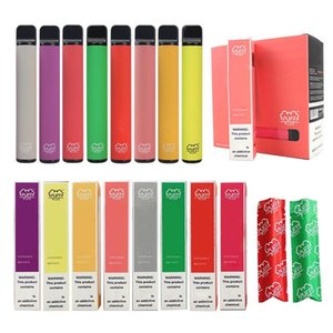 factory newest 66 colors Puff Plus disposable vape 800+puffs 550mah disposable ecigs upgraded Puff Bars OEM 3.2ml empty OWB2404