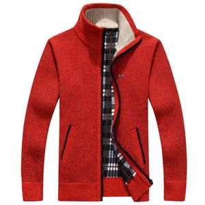 2020 Veste Winter Park Men Soft Shell molletonnée rouge Hommes Zipper coupe-vent noir Eden Plus Size M ~ 3XL Manteaux Homme C1001