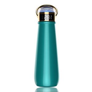 온도 표시 다이아몬드 캡 SS304 더블 벽 진공 플라스크 보온병 컵 비즈니스 선물 OWD2111와 절연 물 병