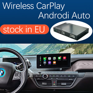 Wireless Apple CarPlay Android Auto Interface for BMW i3 I01 NBT System 2012-2017, with Mirror Link AirPlay Car Play Function