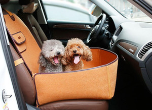 Portable Pet Dog Car Carrier Bag Seat Cushion Dual-use Nylon Waterproof Outdoor Travel Safety Basket For Dogs Cats Pet Products