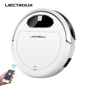2020 LIECTROUX 11S Robot Vacuum Cleaner Wifi App Control, Map Navigation, Smart Memory, Air Pump Water Tank, Brushless Motor