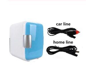 4 L Single Door Refrigerators For Heating & Cooling Electric Home Small Fridges Freezer Desktop Cooler Warmer for Office Using