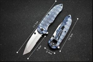 Outdoor knives Benchamade BM 300-2 Outdoor folding knife Tactical folding knife D2 blade CNC handle camping outdoor tool EDC 535 4600