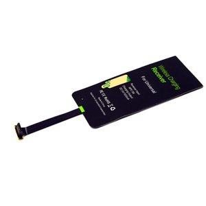 Besegad Qi Wireless Receiver cargador adaptador de carga del receptor Receptor para Samsung Galaxy S3 S4 S5 Nota 4 3 2 Nokia Lumia 820 jlliJU
