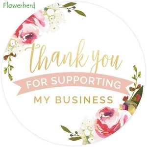 """Thank You for Supporting My Business Label   Thank You Sticker Sealing Sticker Handmade Gift Dec 500 1"""" Small Business Labels"""