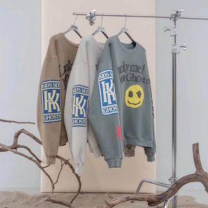 Kanye West KIDS FANTÔMES Sweats Homme VOIR Femmes 1: 1 de haute qualité Casual Esprit Patch CPFM Streetwear Hip Hop Kanye West Sweat C1011