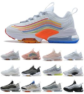 2021 Novo Air Zoom 950 mens Correndo Cheap Undefeated 950 Sliver Bullet Sneakers Triplo Black White Womens Fumo Fumaça Cinza Maxes Trainers