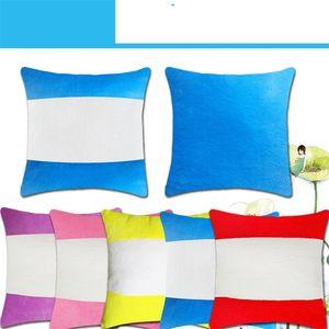 40 * 40 см Сублимационные пустые подушки с сердечником внутреннего плюшевого горизонтального орфографии.